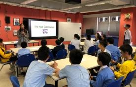 六年級同學參與保良局胡忠中學學習體驗日